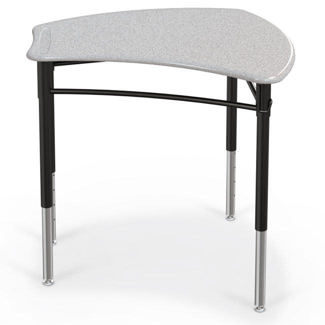 Collaborative Student Desks ~ Balt large shapes desk with solid plastic top