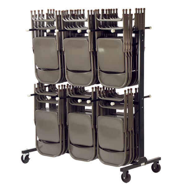 hct6072-double-tier-chair-truck  sc 1 st  Worthington Direct & Virco Double Tier Chair Truck - Hct6072 | Folding Chair Caddies ...