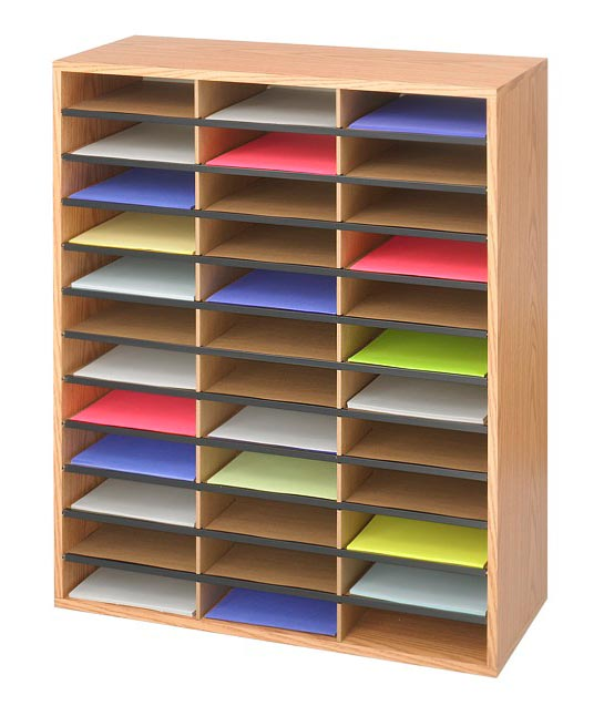 9403mo-48-compartment-wood-literature-organizer