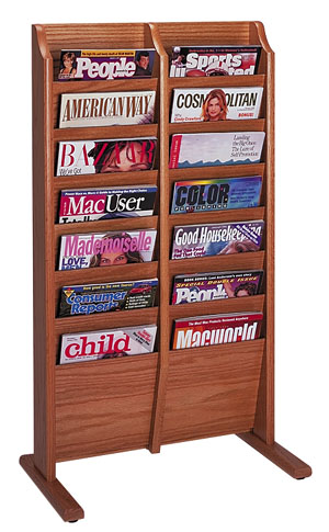 mr14fs-14-pocket-freestanding-magazine-rack
