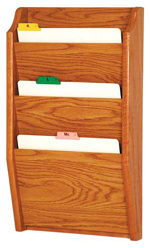Oak File And Chart Holders Wooden Mallet