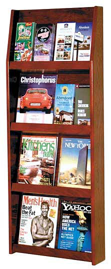 ld4916-oak-literature-display-49-h-x-195-w