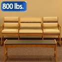 dwba13-sled-base-bariatric-couch-with-arms-designer-fabric