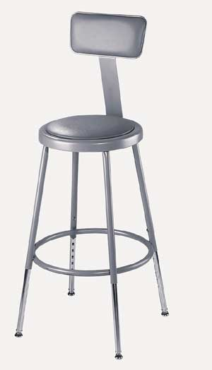 6424hb-2533h-metallic-gray-padded-steel-stool-wbackrest