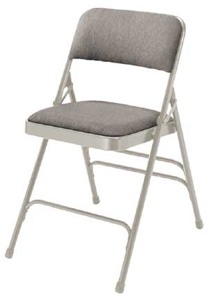 2302-gray-fabric-gray-frame-18-gauge-steel-padded-folding-chair-wdouble-hinge-triple-braces