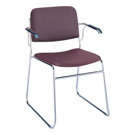 321-sled-base-stack-chair-2-seat-designer-fabric-w-arms
