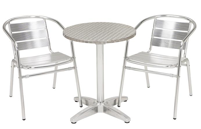 Kfi Seating Stainless Cafe Table 32 Quot Diameter Tss 32rd