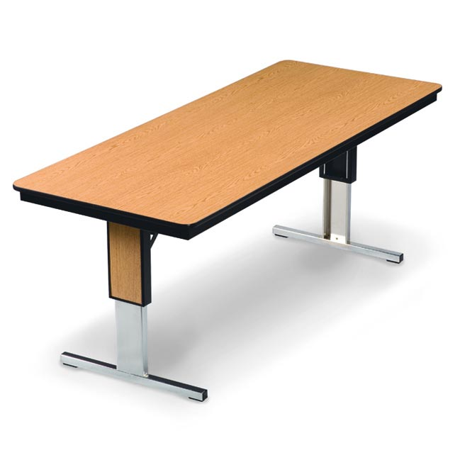 Midwest Folding Products Tl Series Conference Folding Table W - Adjustable height conference table