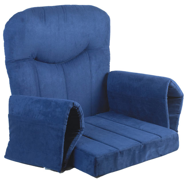 Ael7042 Blue Fabric Replacement Cushion Set