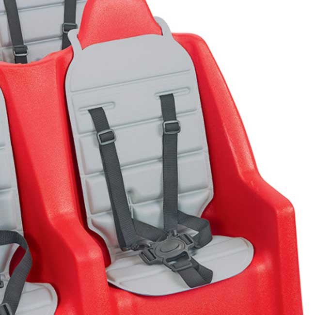 Angeles Bye Bye Buggy Replacement Seat Pad Gray