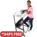 AlphaBetter Stand-Up Desk by Safco