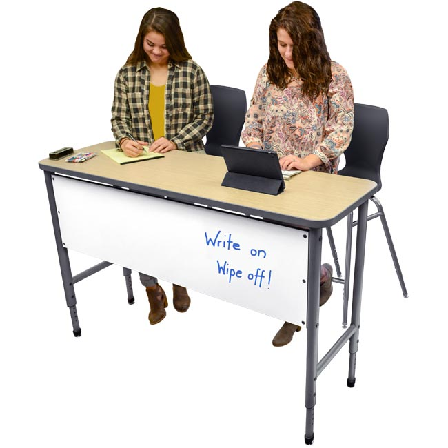 Apex Series Double Student Stand-Up Desk by Marco Group