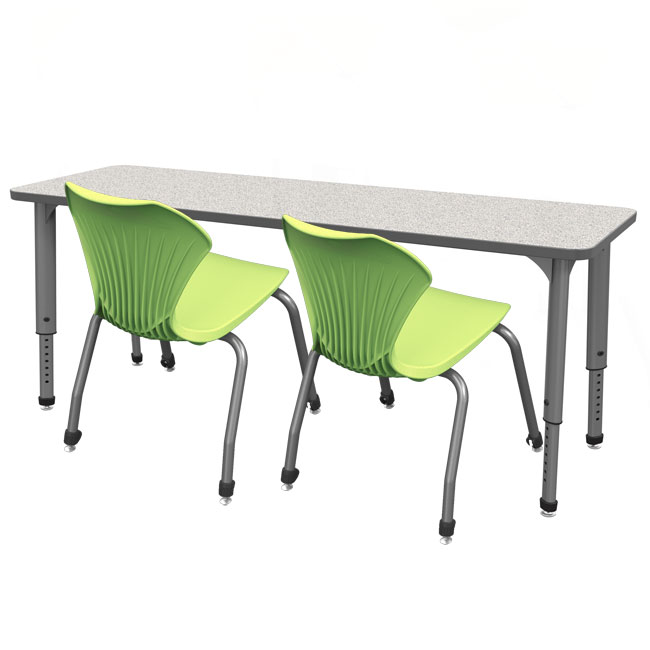 Marco Group Classroom Set 4 Apex Double Student Desks