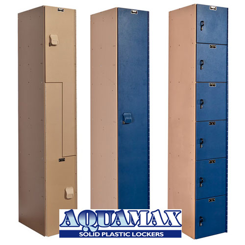 AquaMax Plastic Lockers
