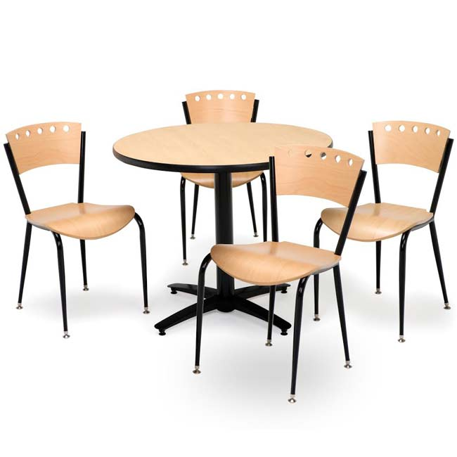 arched-base-cafe-table-with-four-3818a-cafe-chairs-by-kfi