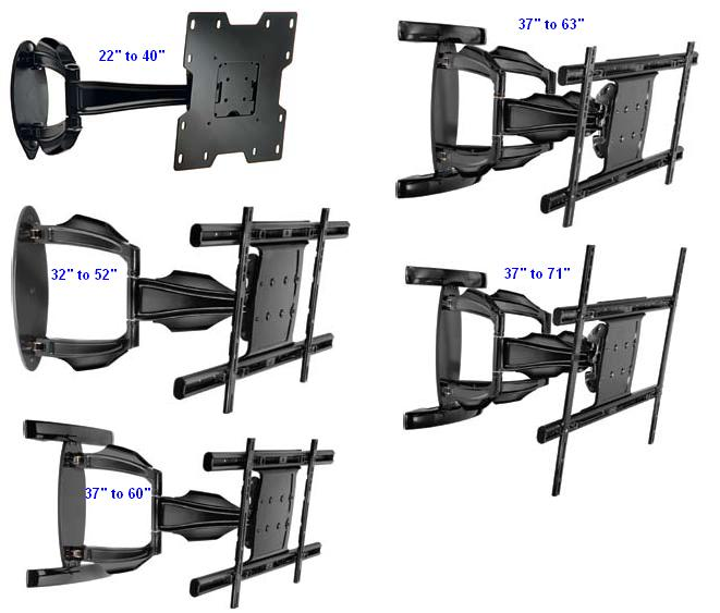 articulating-wall-arm-tv-mount