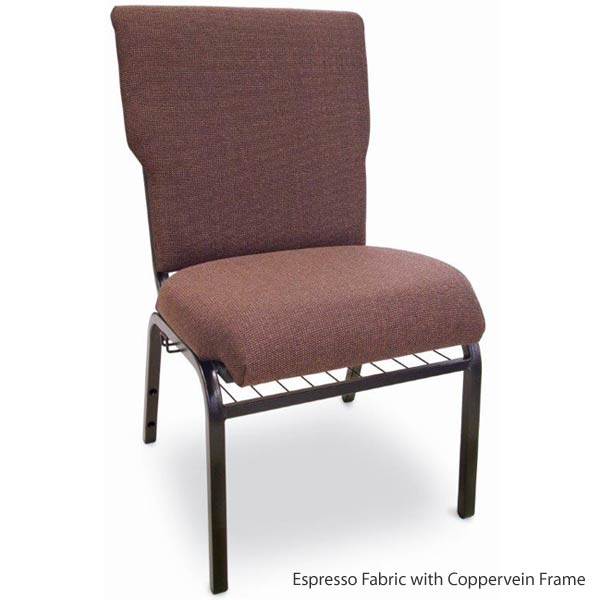 Mccourt Auditorium Padded Stack Chair 105x0 Wooden And Metal