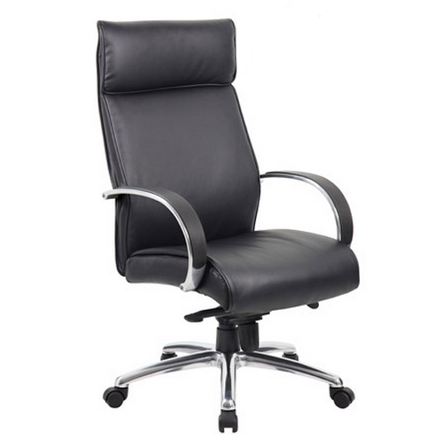 b7711a-contemporary-high-back-executive-chair-w-spring-tilt-aluminum-arms