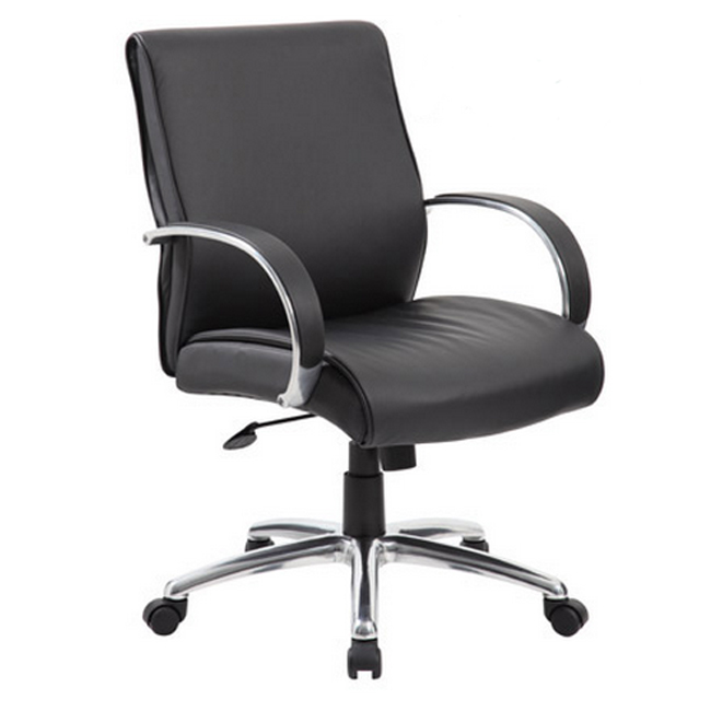b7716a-contemporary-mid-back-executive-chair-w-spring-tilt-aluminum-arms