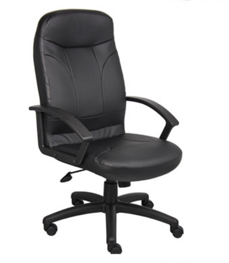 boss high back executive chair leather b8401 executive office