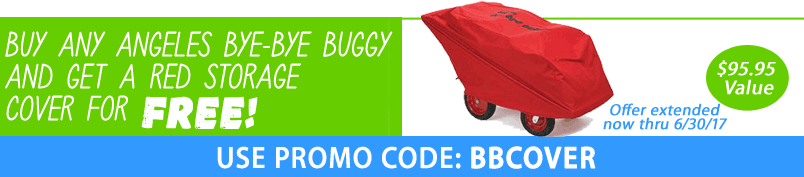 Free Cover with Bye-Bye Buggy Purchase