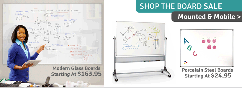 Click to see all Whiteboards on Sale