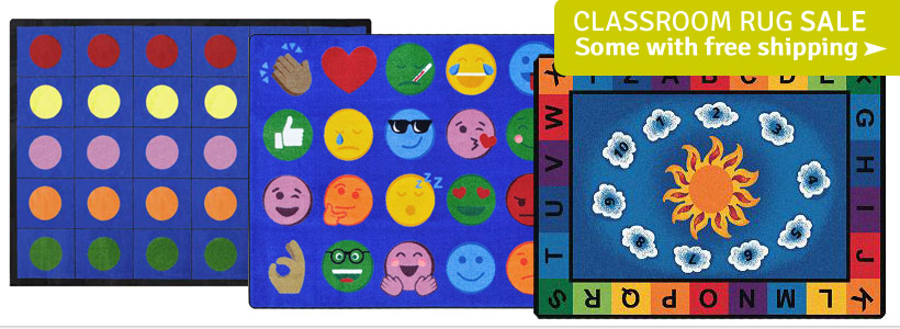 Classroom Carpets & Rugs on Sale- Some Ship FREE!