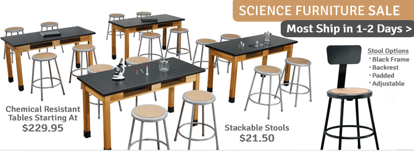 Click to see all Science Lab Furniture on Sale