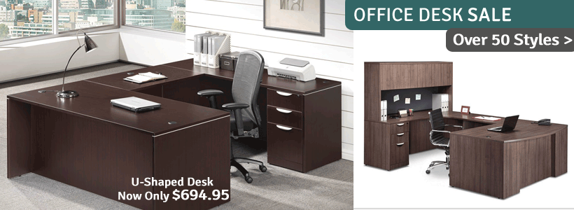Click to see all Office & Teacher Desks on Sale