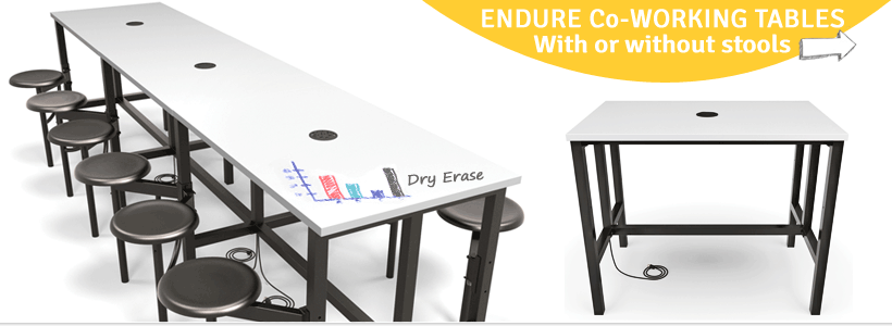 Endure Co-Working Tables now on Sale
