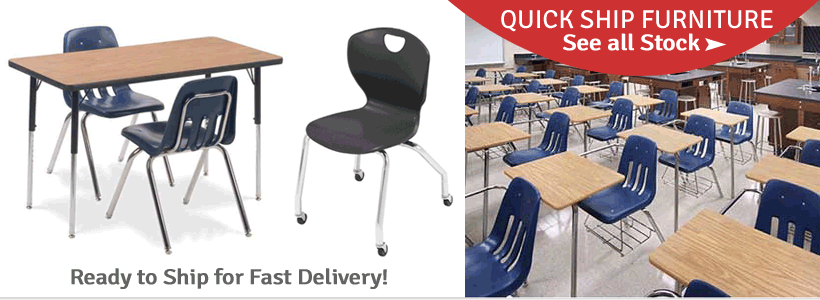 Fast Shipping on In Stock School Furniture!
