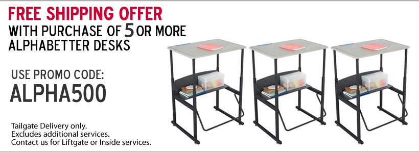 Free Shipping Offer on AlphaBetter Stand-Up Desks!