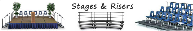 Stages and Choral Risers