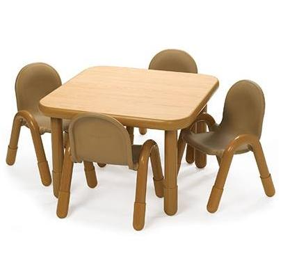 Preschool Table Chair Set 30 Square Ab74120 Packaged Tables