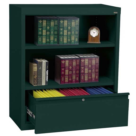 bd10361842-metal-bookcase-w-file-drawer-36-w-x-18-d-x-42-h