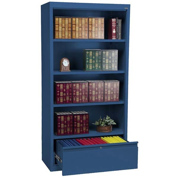 bd30361872-metal-bookcase-w-file-drawer-36-w-x-18-d-x-72-h