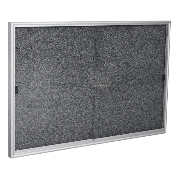 94sah-indoor-enclosed-bulletin-board-w-sliding-glass-doors-96-w-x-48-h