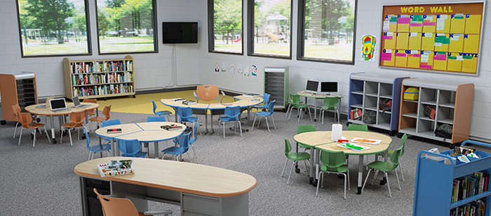The Right School Furniture Can Really Make A Difference