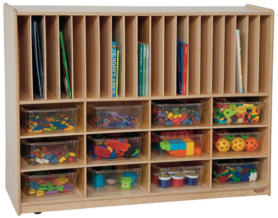 Classroom Cabinet Design ~ Art space for young artists room organization and