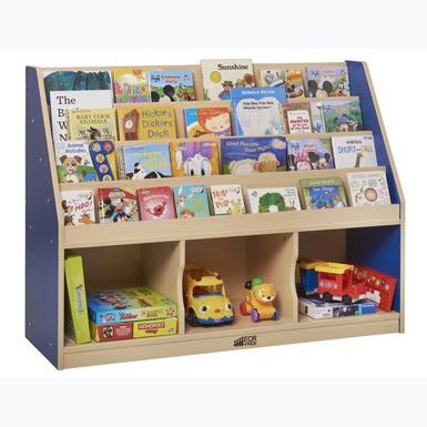 elr-0728-colorful-essentials-3-compartment-book-display-w-storage