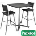 Click here for more Breakroom Table & Chair Packages by Worthington