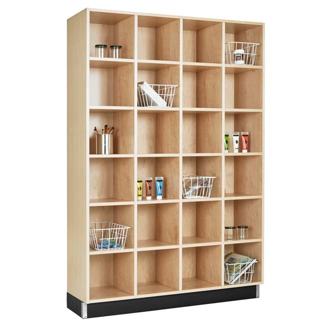 Wood Storage Cubbies (4 Sections   24 Openings) By Diversified Woodcrafts,  CC 4815 72   Stock #38A06