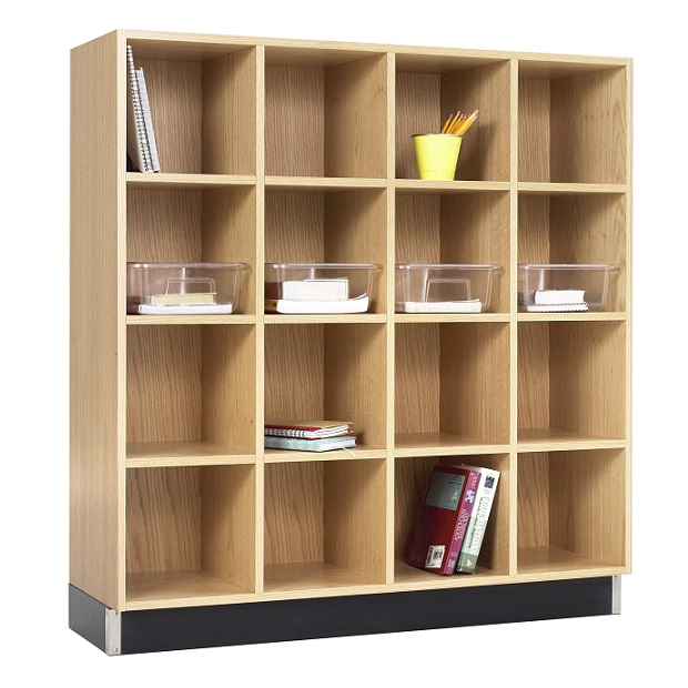 cc-4815k-wood-storage-cubbies-4-sections-16-openings