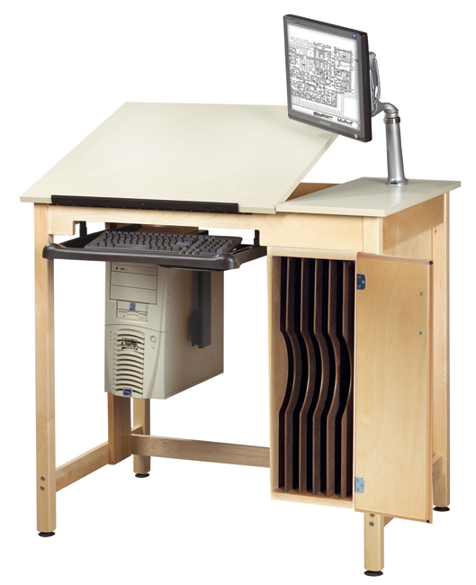 cdtc-72-split-top-school-cad-drawing-computer-table-w-board-storage-by-shain