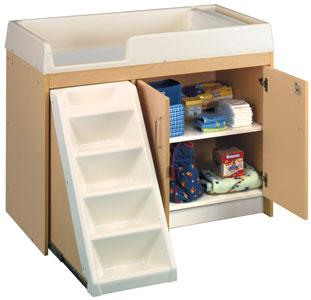 Example of Daycare Diaper Changing Table