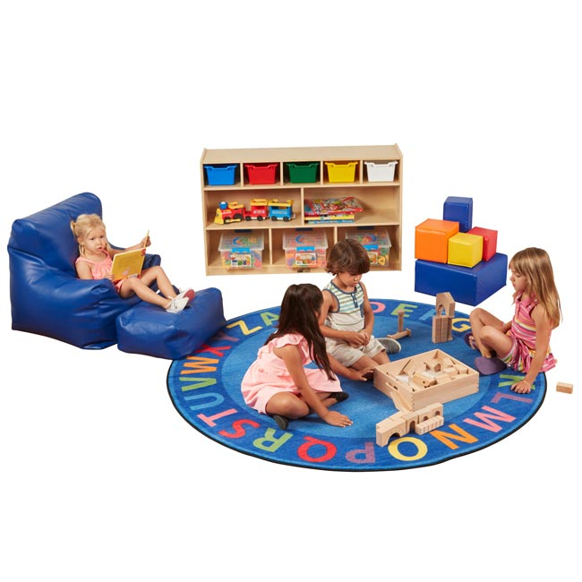 Ecr4kids A Z Circle Time Seating Rug Elr Fe909 27a