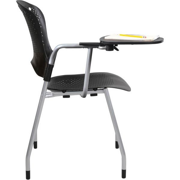 stock balt 4pack circulation tablet arm chair black