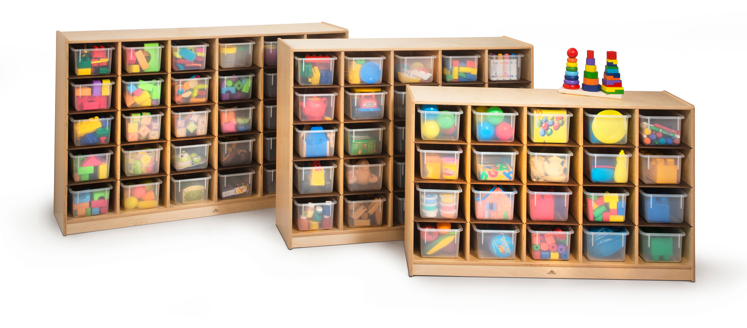 All Clear Tote-Tray Storage Cabinet By Whitney Brothers Options ...