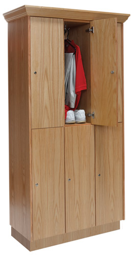 Wooden Club Lockers
