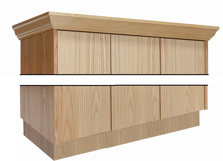 wcm36w-threewide-front-crown-molding-for-wood-club-locker-36-w